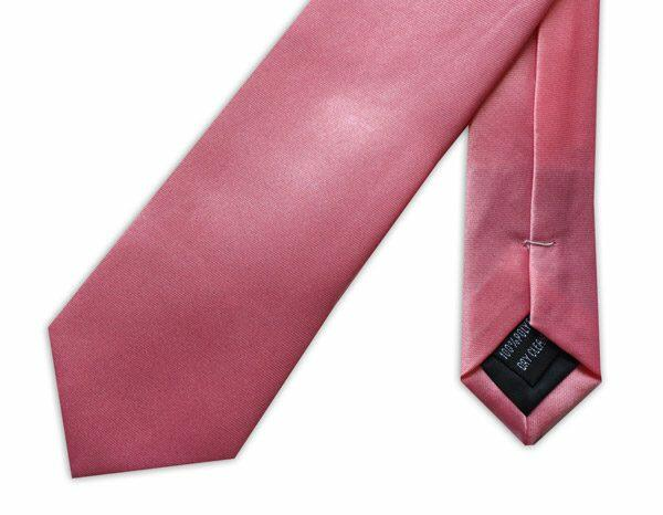 SKINNY LIGHT PINK TIE-0