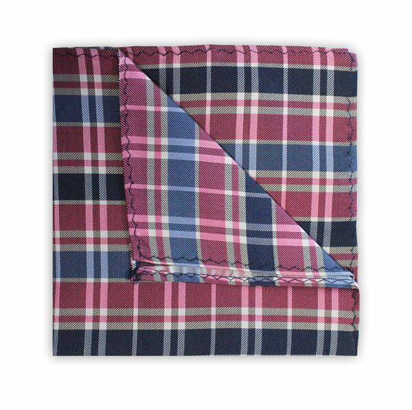NAVY/BLUE/PINK CHECK SQUARE-0