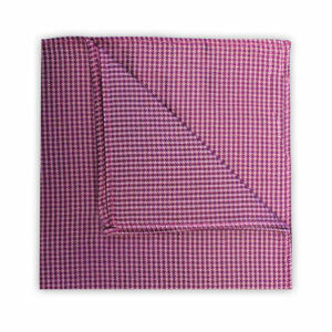 PINK HOUNDSTOOTH SQUARE-0