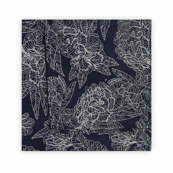 NAVY/GREY FLORAL SQUARE-0