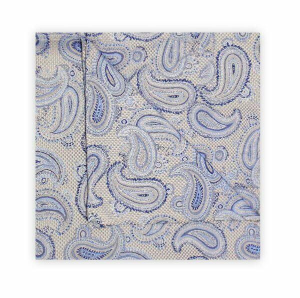 BLUE/NAVY/WHITE PAISLEY SQUARE-0