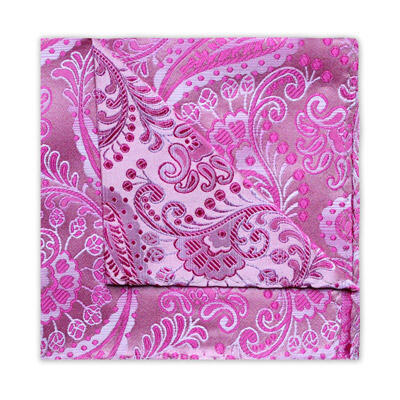 PINK FLORAL/PAISLEY SQUARE-0