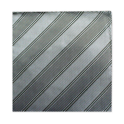 GREY & BLACK STRIPE SQUARE-0