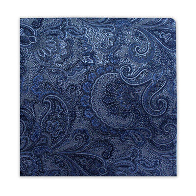 BLUE & SILVER FLORAL SQUARE-0