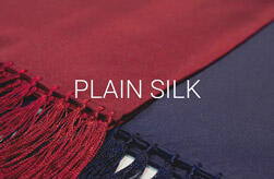 Plain Silk Scarves