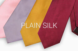Plain Silk Ties