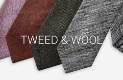 Mens Tweed Ties