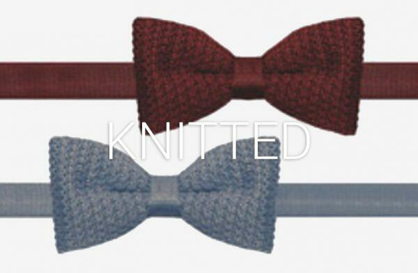 Knitted Bow Ties