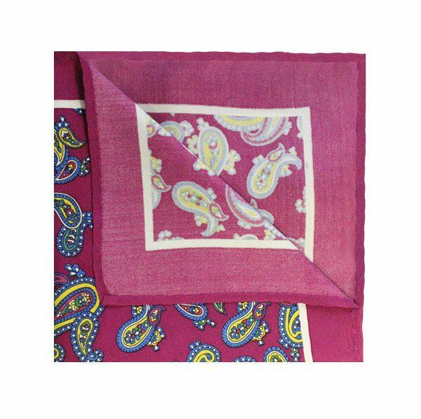 PURPLE/YELLOW PAISLEY SQUARE-0