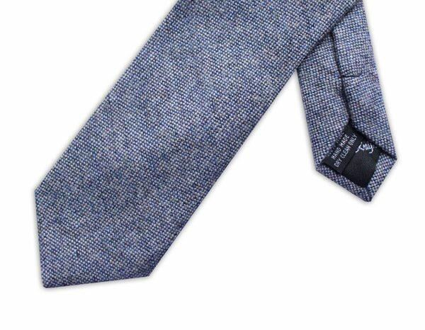 SPECKLED LIGHT BLUE TIE-0