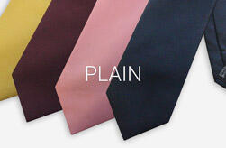 Plain Polyester Ties