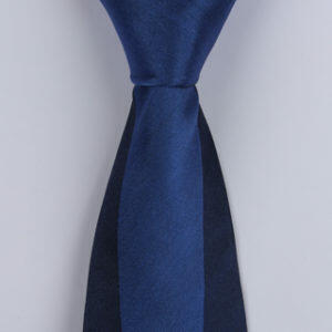 Navy/Blue Block Sorrento Printed Silk Ties-0