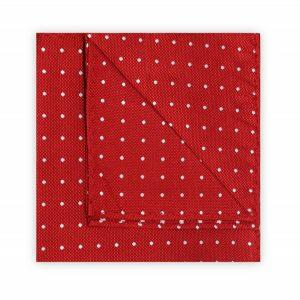 RED/WHITE SPOT SQUARE-0