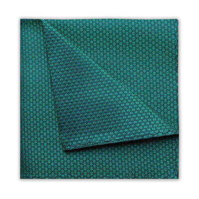 GREEN GEOMETRIC SQUARE-0