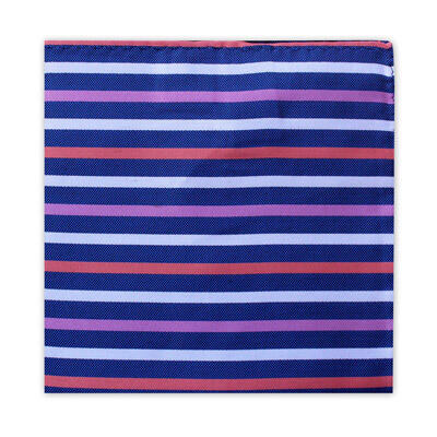 BLUE, PINK, ORANGE & WHITE STRIPE SQUARE-0