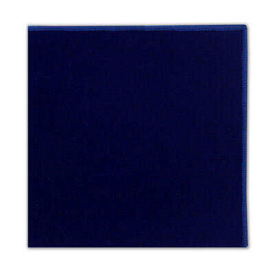 ROYAL BLUE POCKET SQUARE-0