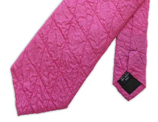 Fuchsia Quilted Tie-0