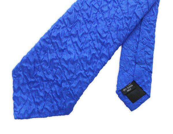 Blue Quilted Tie-0