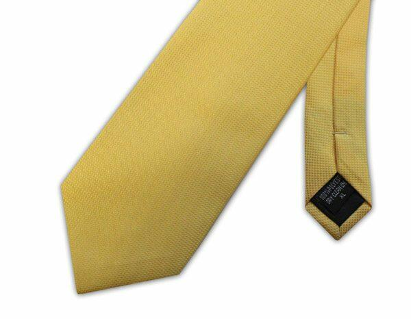 BRIGHT YELLOW MICRO GRID XL TIE-0