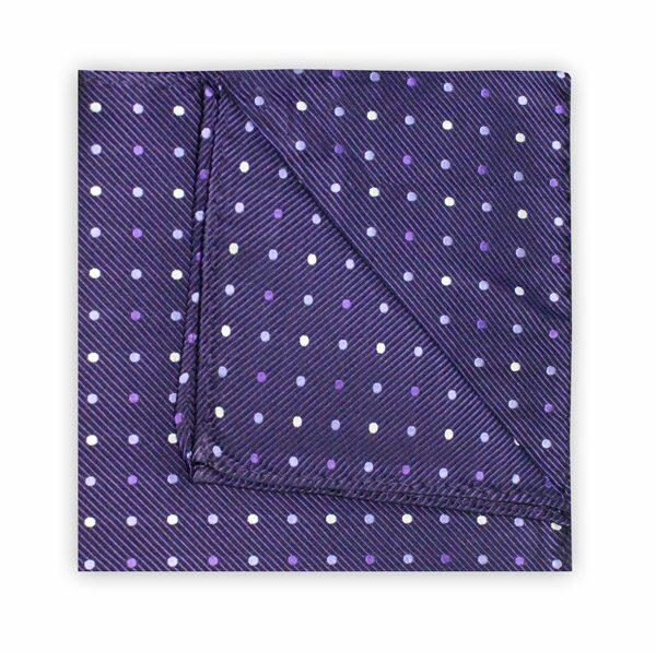 PURPLE SPOT SQUARE-0