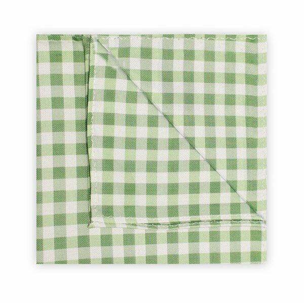 GREEN/WHITE GINGHAM SQUARE-0