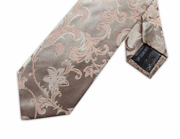 SOFT GOLD FLORAL XL TIE-0