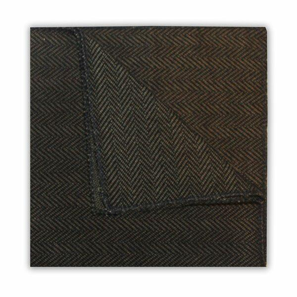 GREEN HERRINGBONE SQUARE-0