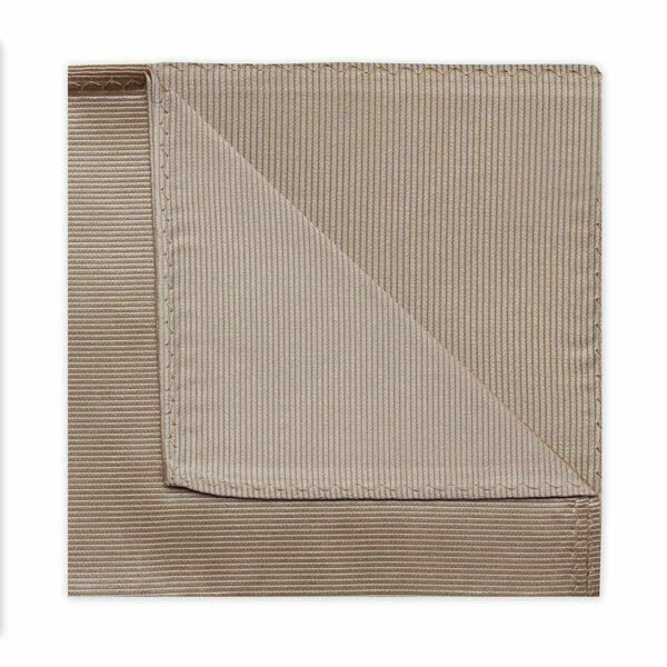 BEIGE SILK SQUARE-0