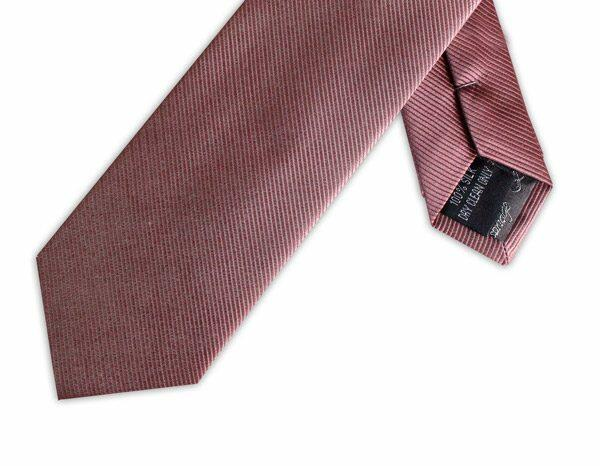 SOFT BURGUNDY SILK TIE-0