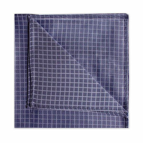 DARK GREY CHECK SQUARE-0