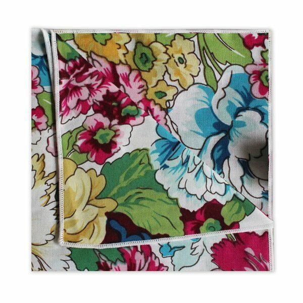 PINK/YELLOW/BLUE FLORAL SQUARE-0