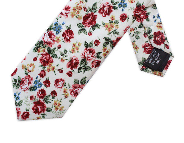SMALL FLORAL TIE-0